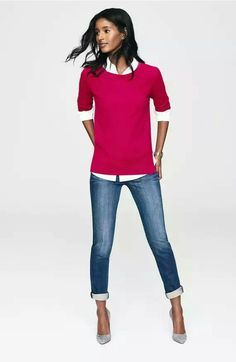 Halogen® Crewneck Lightweight Cashmere Sweater Regular & Petite - Nordstrom's Was: $89.00 Now: $49.90–$89.00 40% off  Item #1088032 *Red Raspberry