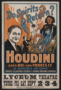 Resultado de imagem para cartaz houdini