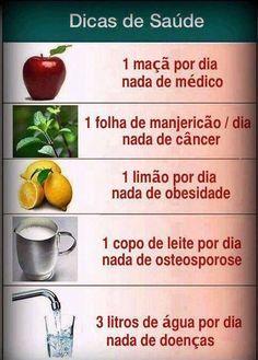 Dicas de saúde.: