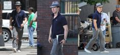 BLOG POST-I found a very cute blog post written by a Benedict fan who saw him arrive in Boston to film Black Mass. She details what it was like seeing him up close as he arrived on set (the comments are also quiet hilarious and cute). Click the Ben pics for a link to her post!