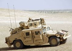 When we're talking about armoured vehicles, nothing comes into my mind like the classic 'murican HMMWV. What's so good about it is not the M2HB on top, but the clever design on the armour, it uses spaced armour and angled walls, making the projectiles travel through more of the armour in order to reach the inside.