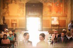 Lovely wedding of a German couple in Monticchiello - Pienza, Italy. Wedding planning by www.tuscantoursandweddings.com