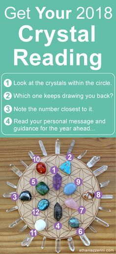Free crystal oracle reading for 2018. Crystal divination. Click for the answers #crystals #crystalgrid