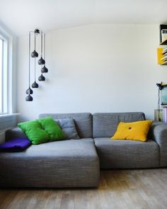 A big comfy sofa. Ideally somewhere to put up feet. If not L shaped - foot stall! Home Sofa, My Dream Home, Ideal Home, Interior Inspiration, New Homes, Lounge, House Design, Interior Design, Ideas