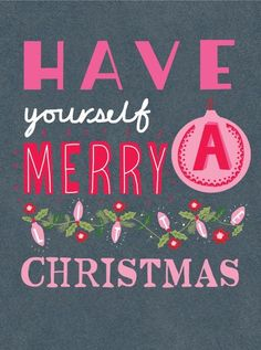 The 45 Best Inspirational Merry Christmas Quotes Of All Time - The Wondrous Its Christmas Eve, Noel Christmas, Merry Little Christmas, Christmas Quotes, Pink Christmas, Winter Christmas, Holiday Fun, Vintage Christmas, Christmas Crafts