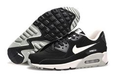 low priced a139f 2c43b Nike Air Max 90 Womenss Shoes 2015 New Releases Black Gray Silver Review