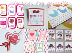 Printable Valentines!