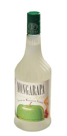 Licor de Manzana Mongarapa 70CL | Destilerias Ferri desde 1920 con calidad y renovación permanente.