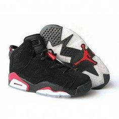 outlet store 9c64a 7f4a3 Air Jordan Retro 6 Pour Femme Noir Rouge from Reliable Big Discount! OFF!  OFF! Air Jordan Retro 6 Pour Femme Noir Rouge and preferably on Yesn