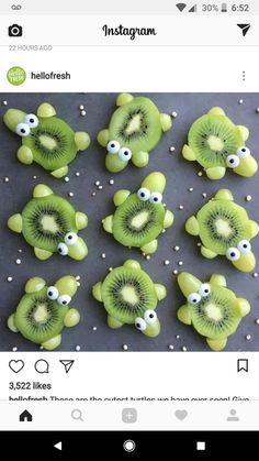 Essen - #Essen Cute Snacks, Snacks To Make, Snacks Für Party, Healthy Snacks For Kids, Cute Food, Kid Party Foods, Healthy Food, Food Art For Kids, Cooking With Kids