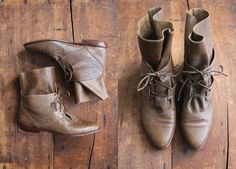 vintage ankle boots / leather boots / size 6 boots on Etsy, $102.82 CAD @Danielle Valentine these remind me of you
