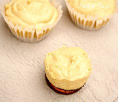 French Press~mini no-bake pumpkin cheesecakes with oreo crust