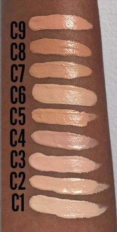 Makeup revolution full coverage concealer swatches and ...