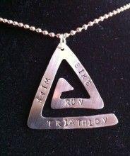 triathlon necklace  cool!