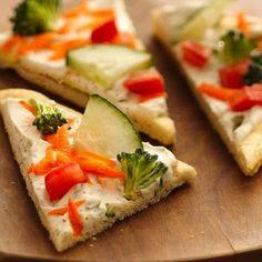 Easy Crescent Veggie Pizza Recipe - Key Ingredient