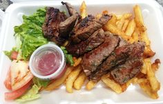 NYC Food Truck Lunch: Steak Frites From Steak Freak