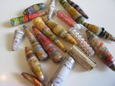 ▶ Paper Beads & Resin Part 2 - YouTube