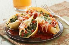 Coquilles farcies   Recette, idées-repas, dîner, souper - cuisine | Kraft - quest-ce qui mijote