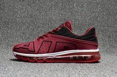 36ad5993d1df Mens Nike Air Max Flair 2017 Kpu Running Shoes Wine Red Black White 942236  301