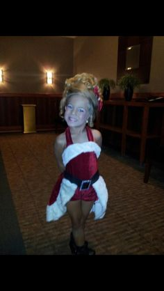 Christmas outfit of choice. #santa #pageant #tandt #glitz