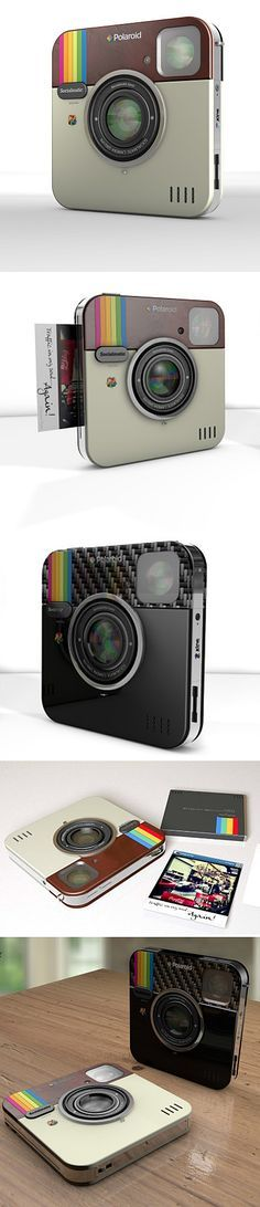 """""""Socialmatic : Cool Instagram-Inspired Camera"""" ---- I'm sorry, but no. Instagram's logo is from the Rainbow edition poloroids. not the other way around... this new camera might be designed after the insta logo, but it's a rainbow. Still cool, though."""