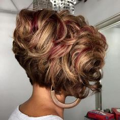 Curly Stacked Bob Haircuts Source Short To Medium Curly Hair Source Curly Bob Hairstyles Source Short Curly Hair Highlights Source Mahogany Curly Bob Hair Source Curly Hair Back View Source Curly Hair Layers… Continue Reading → Bob Haircut Curly, Short Curly Bob, Short Hair Cuts, Bob Haircuts, Long Bob, Toddler Haircuts, Pixie Cuts, Long Curly, Big Curly Weave