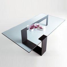 Tonelli Plinsky Glass Coffee Table | 2 Sizes