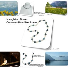 We traveled to Geneva and the beauty of the lake and mountains inspired the Geneva - Pearl Necklace. Only at Naughton Braun, the place for re-imagined classics!