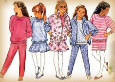 Sewing Pattern Vintage 1980s Girls Jacket by mmmsvintagepatterns
