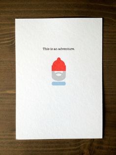 Steve Zissou Adventure Card
