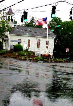 Brookfield Center Raindrops