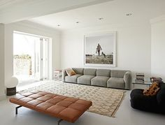 Montage: Cognac Colored Leather Sofas - StyleCarrot