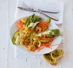 Garnelen-Avocado-Salat: leicht und lecker!