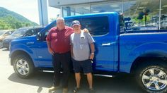 Kendall Jones with his Sales Associate, Johnny Dickens. Thanks Kendall for your ongoing support & friendship