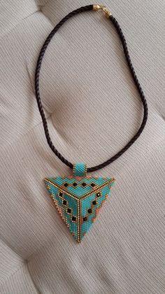Miyuki necklace by Laperyol on Etsy