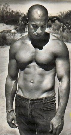 Vin Diesel - Click image to find more Celebrities Pinterest pins