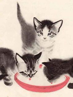 The Kittens Who Wouldn't Share...  Clare Turlay Newberry