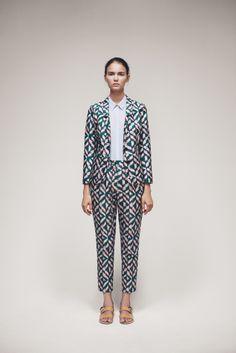 Flare Blazer, Shiri Shirt and Civetta Trousers | Samuji SS15 Seasonal Collection