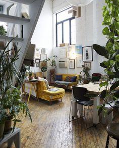 Fotografía: Emily Johnwton. Jessica barensfeld & Simón Howell's refreshing Interior