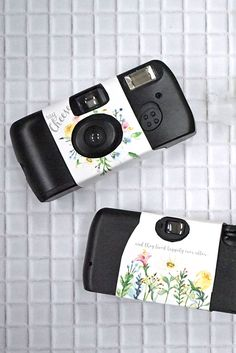 春の結婚式演出にぴったり!水彩お花のカメラカバー【無料テンプレート】 / WEDDING | ARCH DAYS