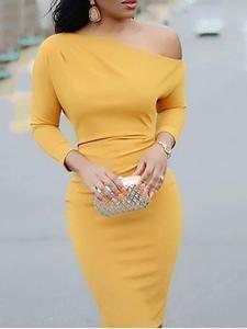 Women's Fashion Bodycon Kleider Online Shopping – Chic Me Trend Fashion, Fashion Outfits, Womens Fashion, Style Fashion, Fashion Ideas, Bodycon Dress With Sleeves, Sheath Dress, Mini Vestidos, Mode Style