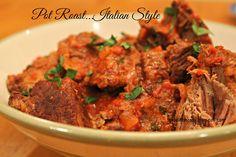 Pot Roast...Italian Style & A Leftover Make Over #leftovers #potroast #recipe