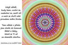 Mandala Nech se nést proudem svého života