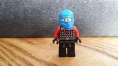 Blue Hood Ninja Ryan | The MiniFigurez Store
