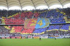Coregrafie reprezentând harta României colorata în roşu şi albastru, este realizată de suporteri stelişti în meciul cu FC Braşov, din etapa a XXXIV-a a Ligii I, la Bucureşti, marţi, 28 mai 2013. (  Octav Ganea / Mediafax Foto  ) - See more at: http://zoom.mediafax.ro/sport/steaua-bucuresti-titlul-24-10909118#sthash.ewIQM6vR.dpuf