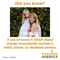 Learn more about hunger in America, feedingamerica.org
