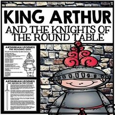Arthurian Legends Unit - King Arthur and the Knights of t