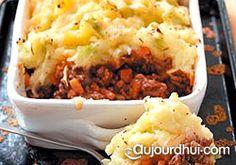 Recette de cuisine, idée de recette – Le hachis parmentier anglais (shepherd's pie), vous connaissez? Une recette qui n'a rien à envier à la recette française tellement elle est délicieuse et pleine de goût.