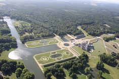 Grand Canal, Saint Firmin, Oise, France, Wikimedia Commons, Statue Of Liberty, Airplane View, City Photo, Mansions