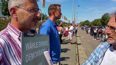 """So dumm und politisch ungebildet sind die """"Nazis"""" in Heidenau - http://www.statusquo-news.de/so-dumm-und-politisch-ungebildet-sind-die-nazis-in-heidenau/"""